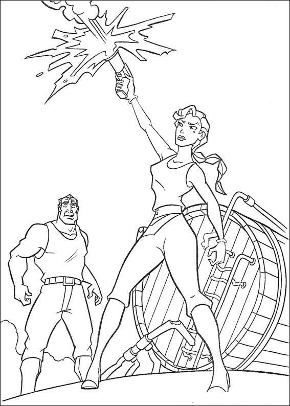 Atlantis coloring #2, Download drawings