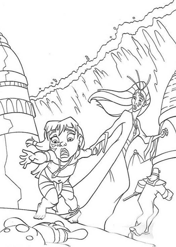 Atlantis coloring #8, Download drawings