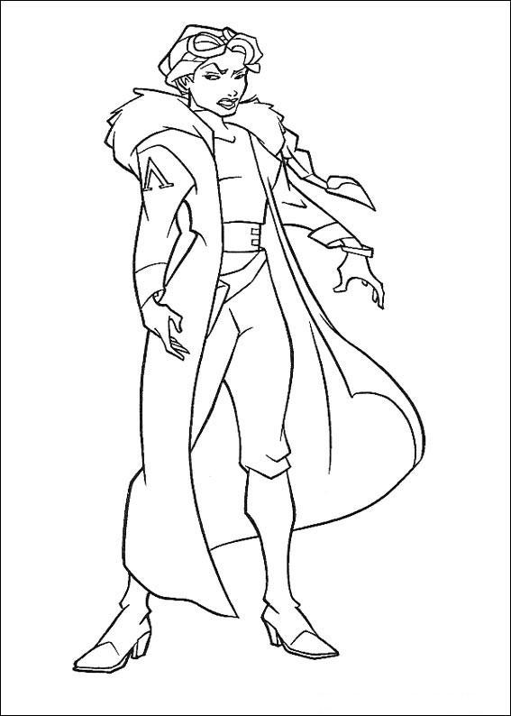 Atlantis coloring #6, Download drawings