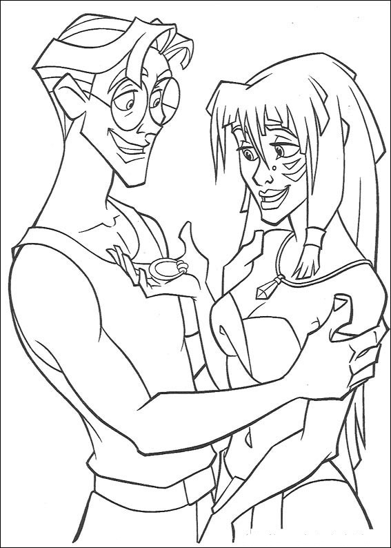 Atlantis coloring #7, Download drawings
