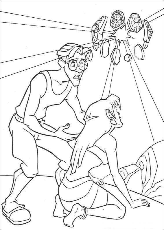 Atlantis coloring #18, Download drawings