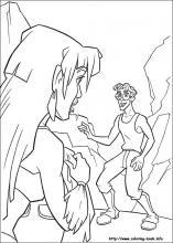 Atlantis coloring #1, Download drawings
