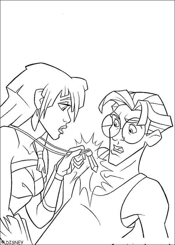 Atlantis coloring #14, Download drawings