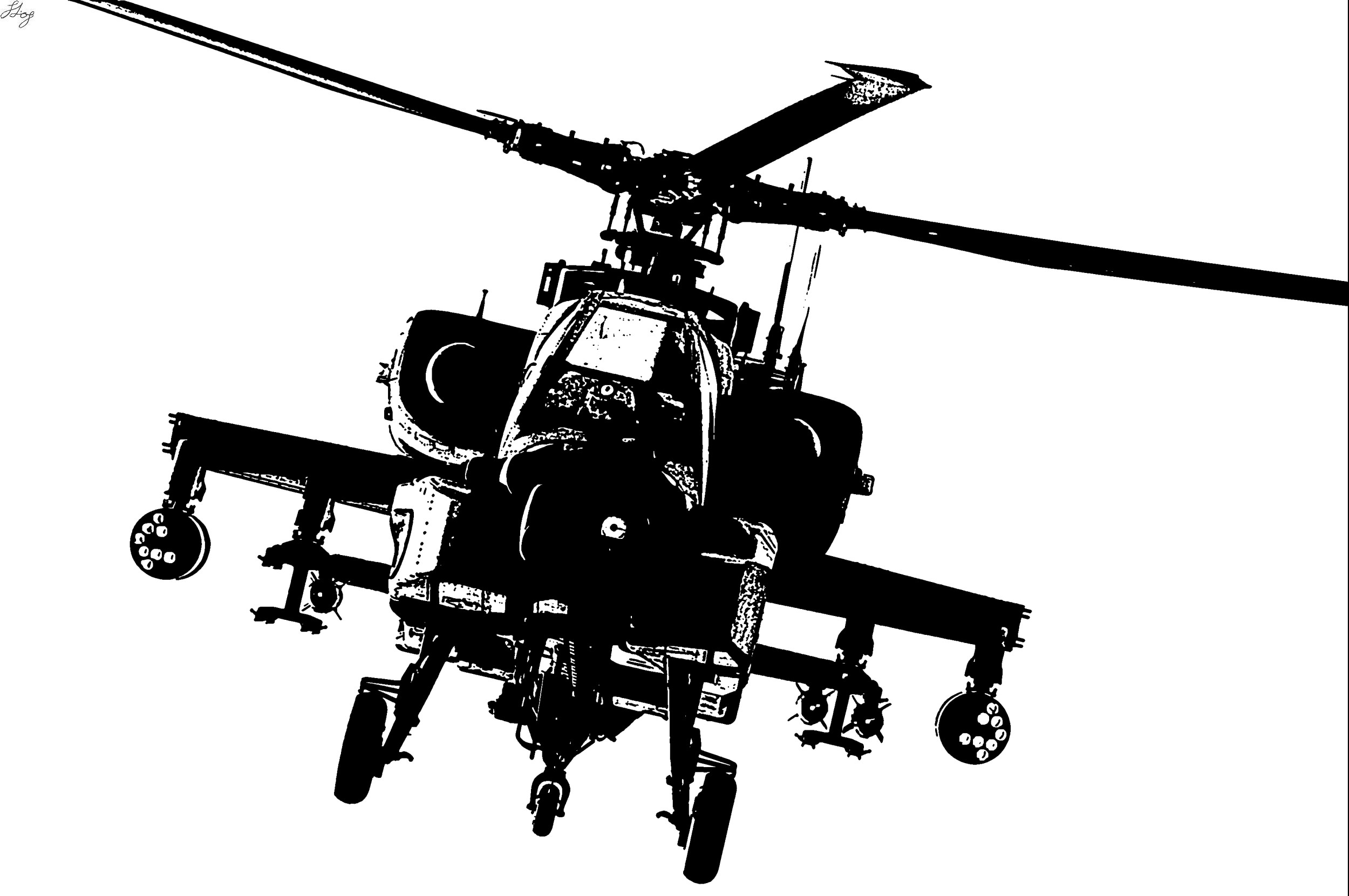 Attack Helicopter clipart #20, Download drawings