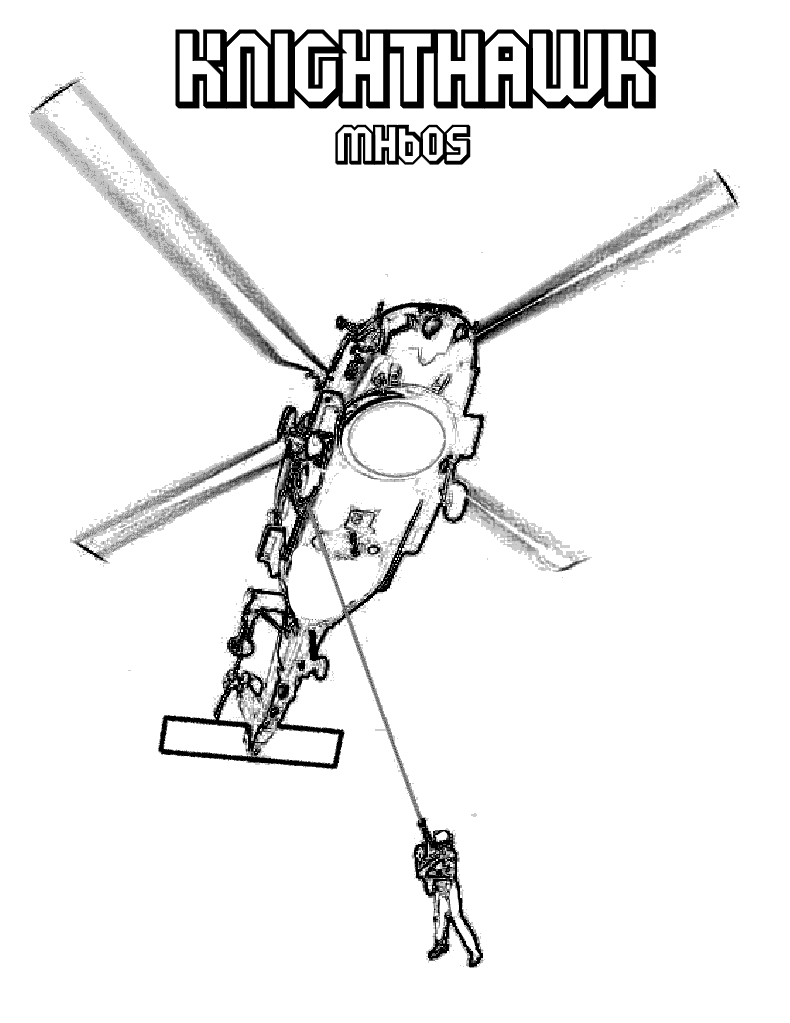 Attack Helicopter coloring #3, Download drawings