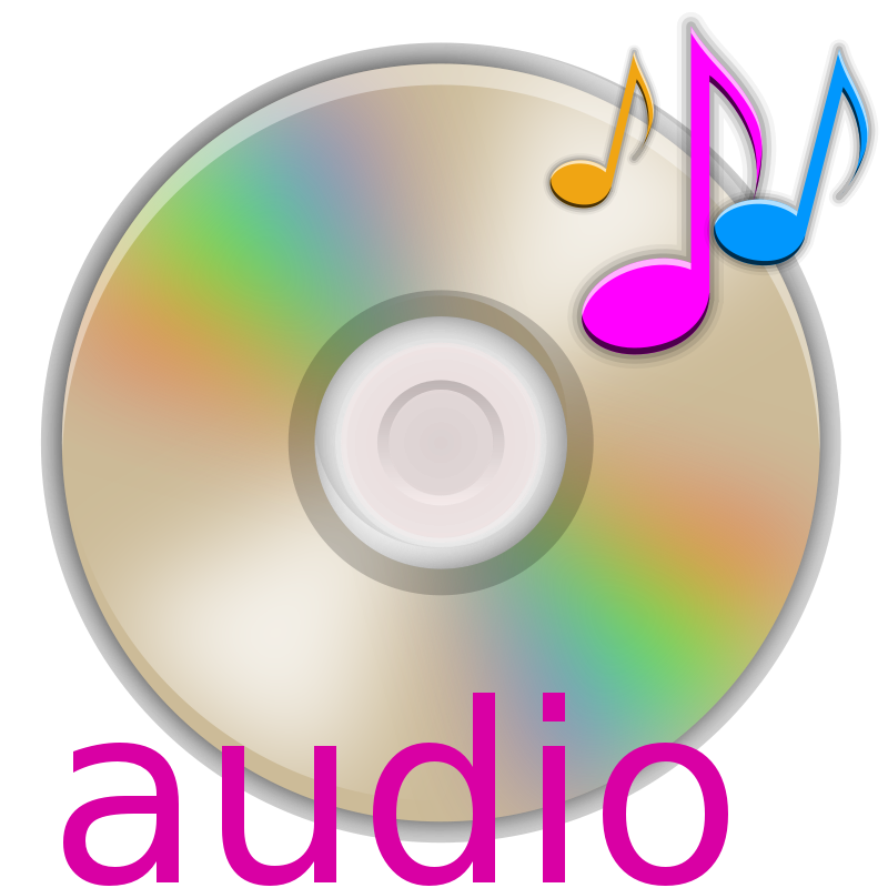Audio clipart #2, Download drawings