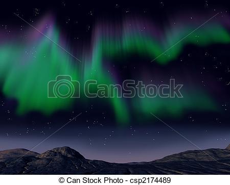Aurora Borealis clipart #13, Download drawings