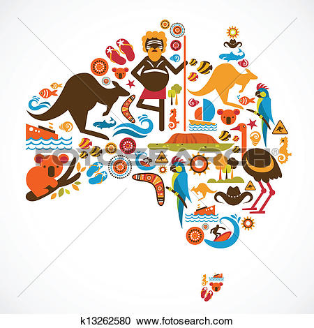 Australia clipart #7, Download drawings