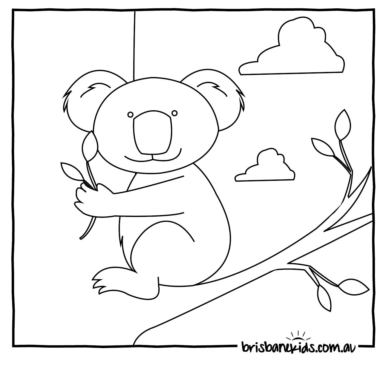 Australian coloring #16, Download drawings