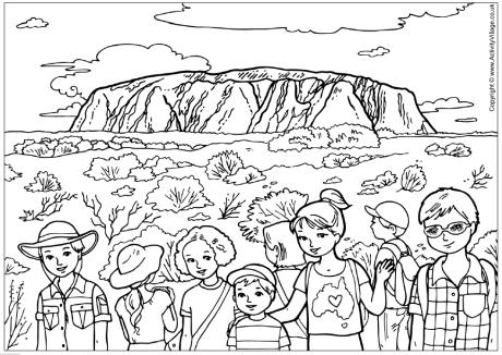 Outback coloring #20, Download drawings