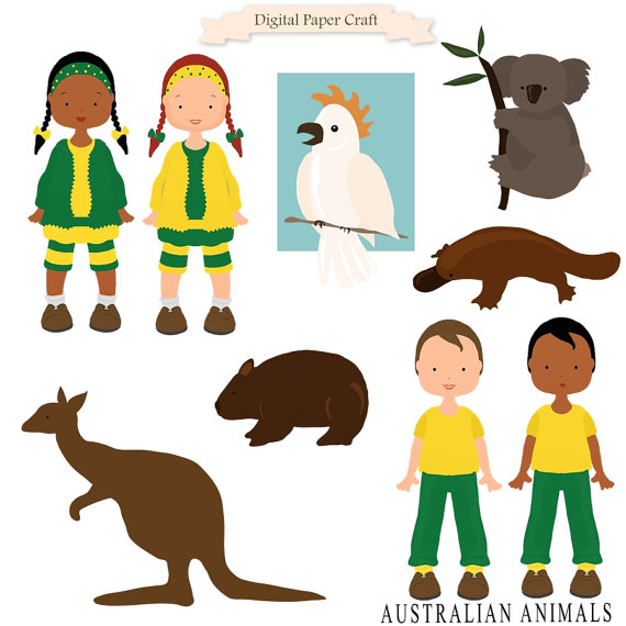 Australian clipart #3, Download drawings