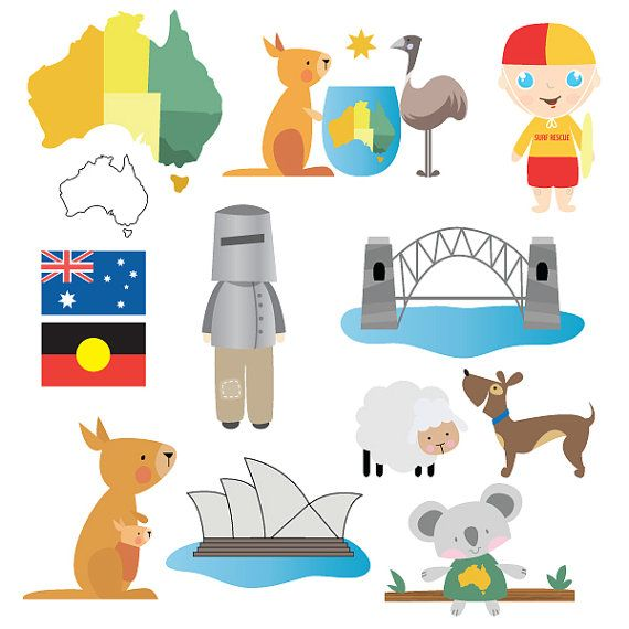 Australian clipart #6, Download drawings
