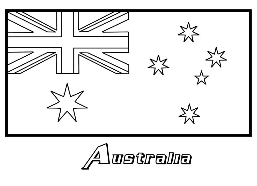 Australian coloring #8, Download drawings