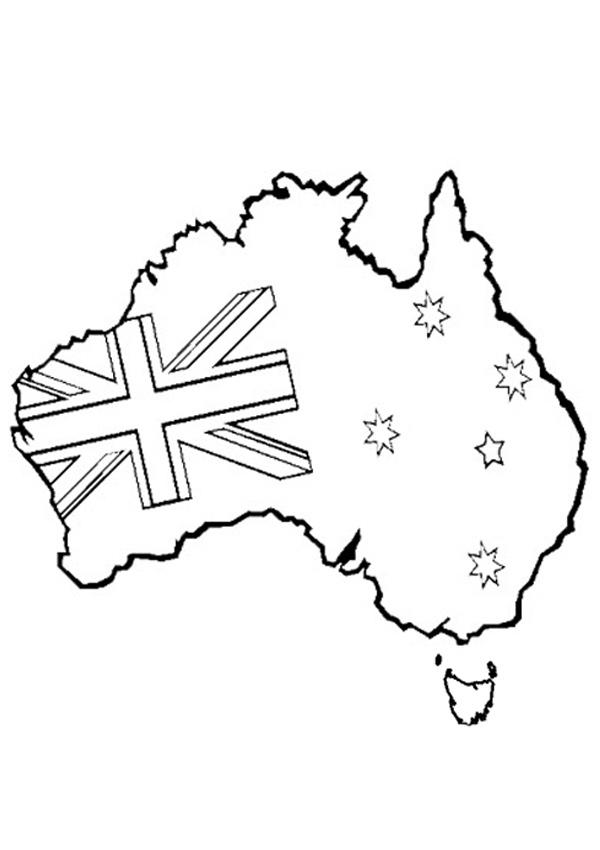 Australian coloring #17, Download drawings