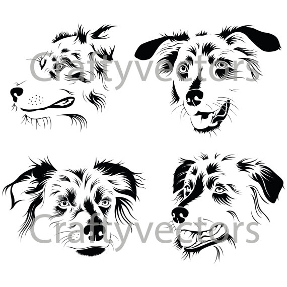 White Shepherd svg #11, Download drawings