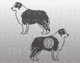 Australian Shepherd svg #2, Download drawings