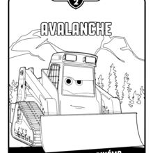 Avalanche coloring #6, Download drawings