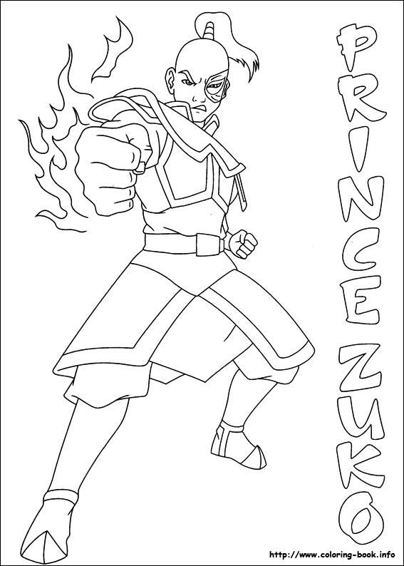 Avatar: The Last Airbender coloring #14, Download drawings