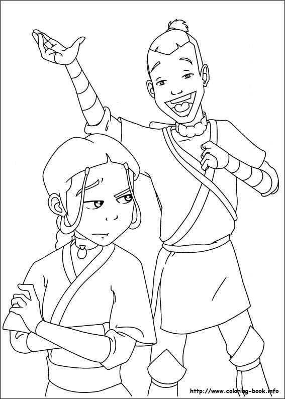 Avatar: The Last Airbender coloring #4, Download drawings
