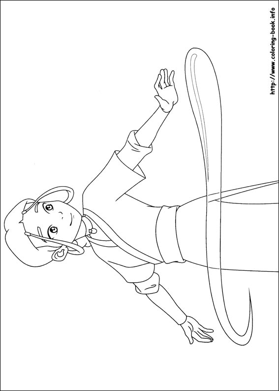 Avatar: The Last Airbender coloring #3, Download drawings