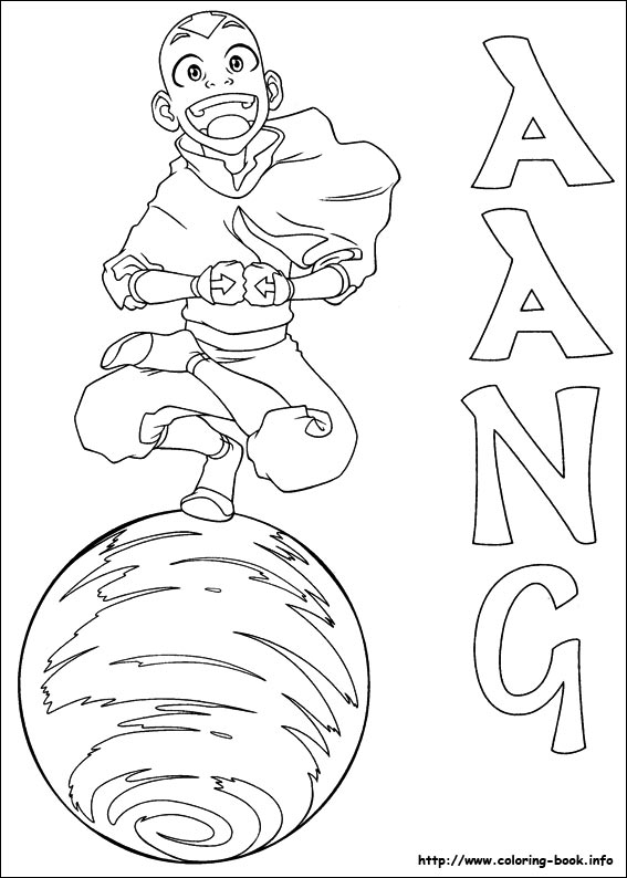 Avatar: The Last Airbender coloring #10, Download drawings
