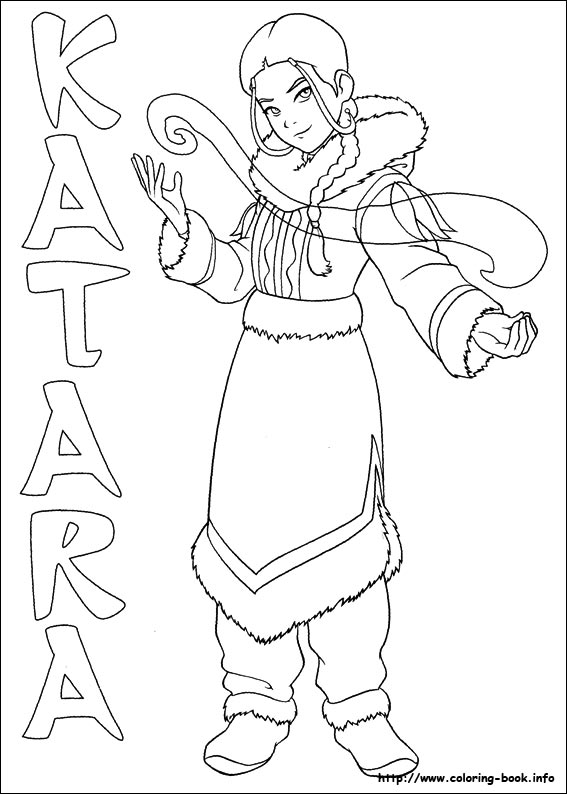 Avatar: The Last Airbender coloring #9, Download drawings