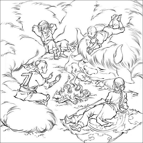 Avatar: The Last Airbender coloring #20, Download drawings