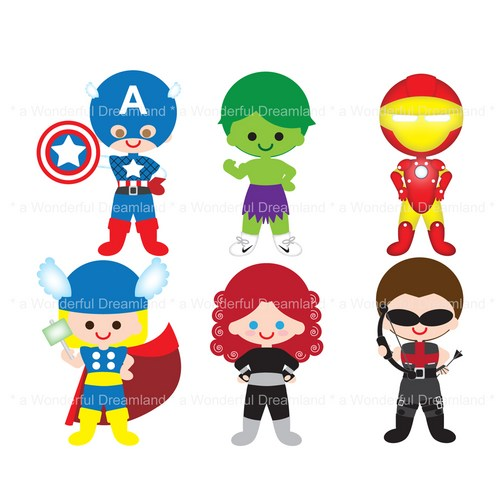 Avengers clipart #14, Download drawings