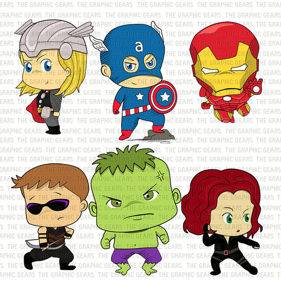 Avengers clipart #6, Download drawings