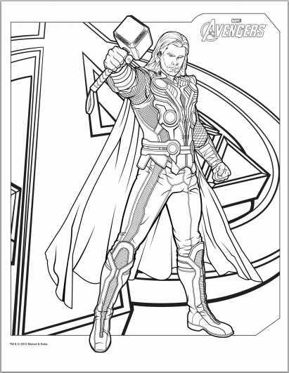 Avengers coloring #16, Download drawings