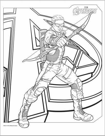 Avengers coloring #3, Download drawings