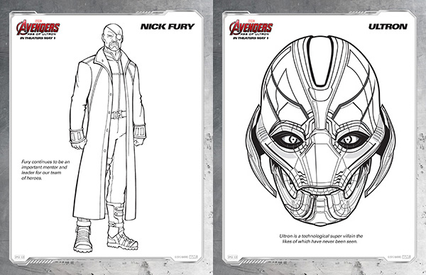 Avengers coloring #19, Download drawings