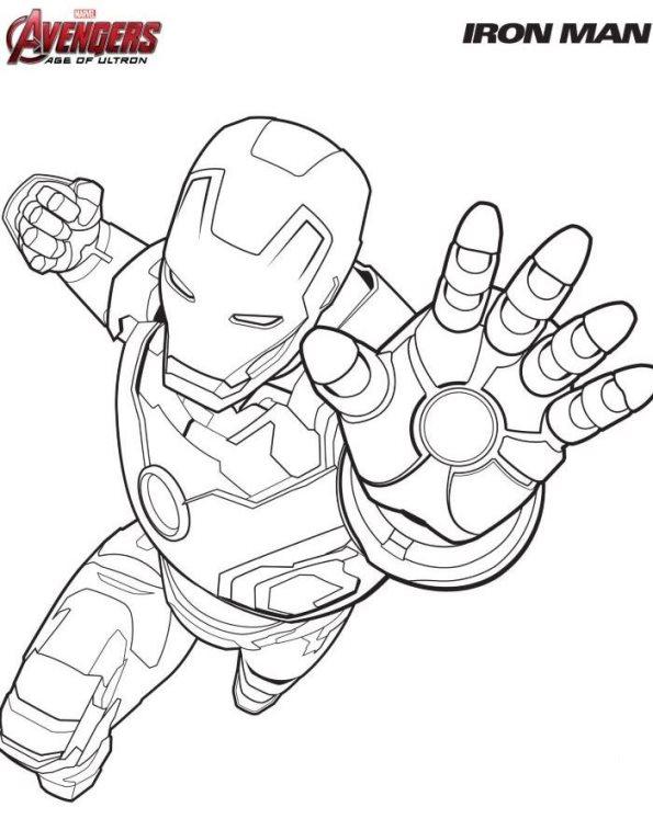 Avengers coloring #9, Download drawings