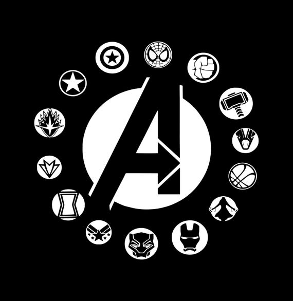 avengers endgame svg #81, Download drawings