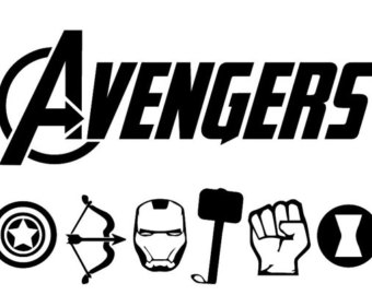 Avengers svg #20, Download drawings