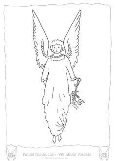 Awaiting Angel coloring #11, Download drawings