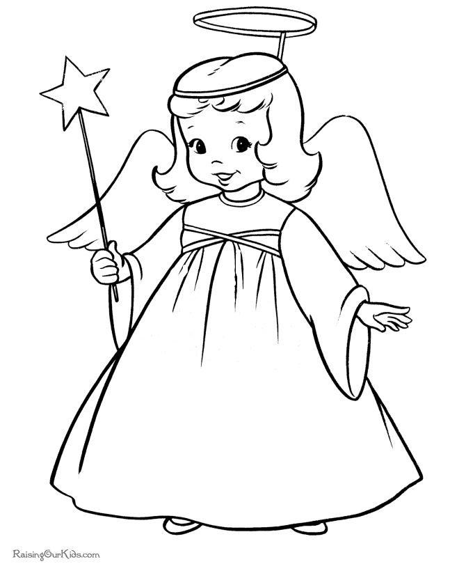 Awaiting Angel coloring #6, Download drawings