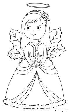 Awaiting Angel coloring #5, Download drawings