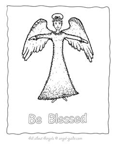 Awaiting Angel coloring #20, Download drawings