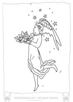 Awaiting Angel coloring #15, Download drawings