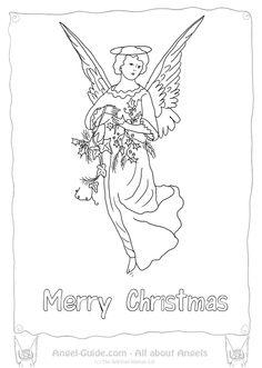Awaiting Angel coloring #13, Download drawings
