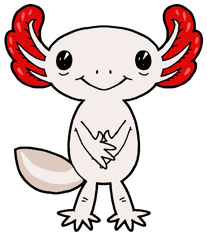 Axolotl clipart #1, Download drawings
