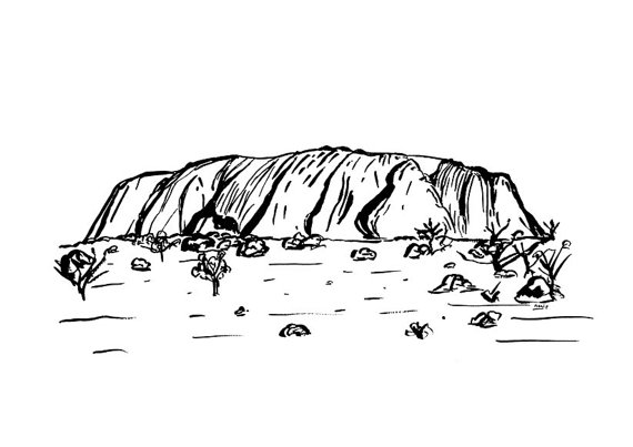 Ayres Rock clipart #9, Download drawings