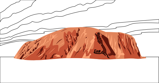 Ayres Rock svg #20, Download drawings