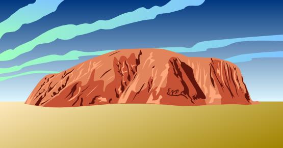 Ayres Rock svg #18, Download drawings