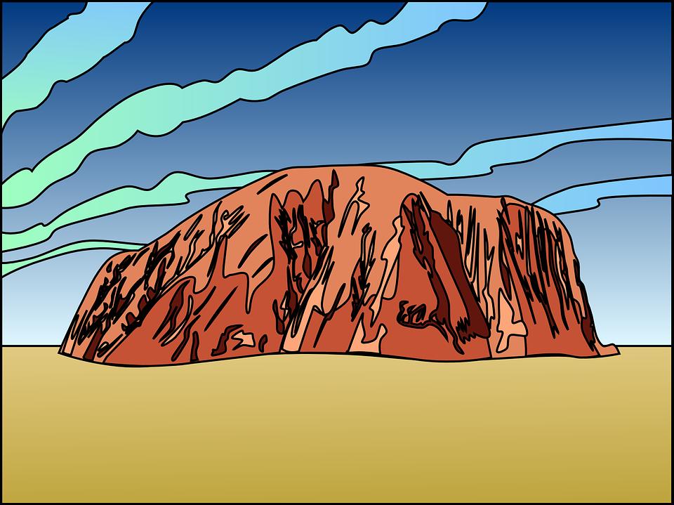 Ayres Rock svg #11, Download drawings