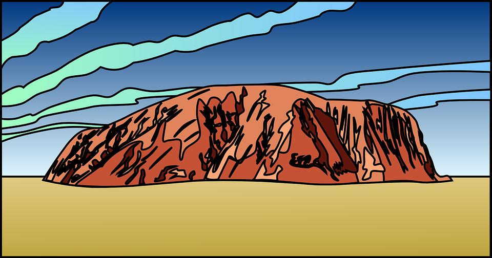 Ayres Rock svg #10, Download drawings