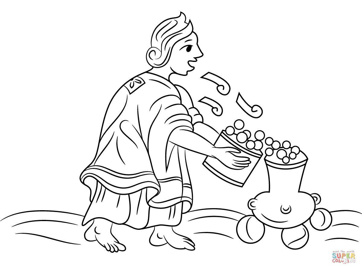 Aztec Civilization coloring #6, Download drawings