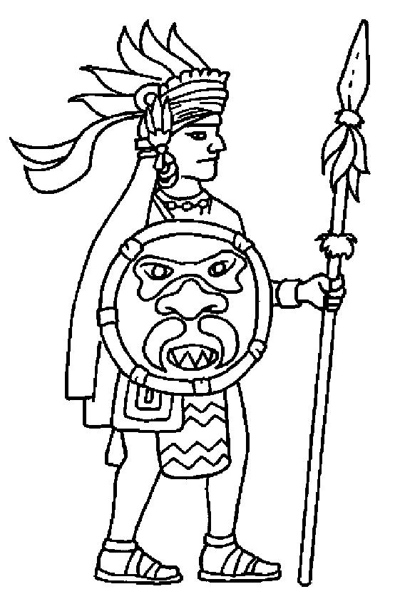 Aztec Civilization coloring #18, Download drawings