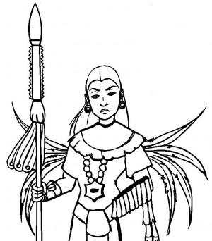 Aztec Civilization coloring #3, Download drawings